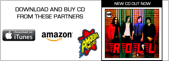 BUY NO ROLL CD NOW AT AMAZON, iTunes and Amoeba